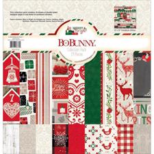 "Bo Bunny Collection Pack 12""X12"" - Merry & Bright"