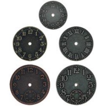 Clock Faces Timepieces - Tim Holtz