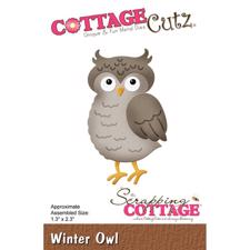 Cottage Cutz  Die - Winter Owl