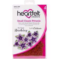 Heartfelt Creation Stamp - Classic Petunia SMALL