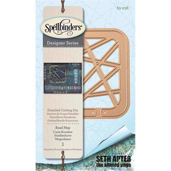 Spellbinders Shapeabilities - Seth Apter / Road Map