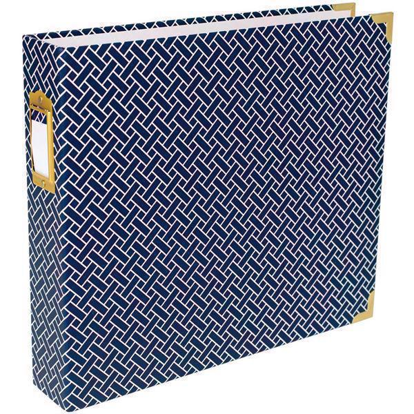 "Project Life Album 12x12"" - Navy Weave"