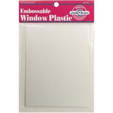 Judikins Embossable Window Plastic (20 ark)