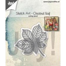 Joy Die - Sketch Art / Chestnut Leaf
