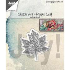 Joy Die - Sketch Art / Maple Leaf