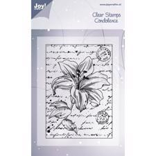 Joy Clearstamp - Lilies No. 2