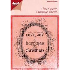 Clearstamp - Joy / Love, Joy & Happiness