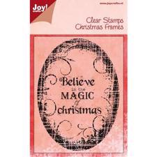 Clearstamp - Joy / Magic of Christmas