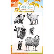 Joy Clearstamp - At the Farm 1 (Grisling & Ko)