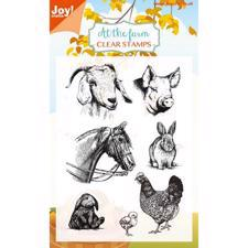 Joy Clearstamp - At the Farm 2 (Ged & Gris)