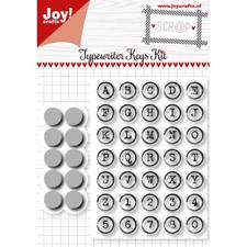 Joy Die - Cut & Stamp / Alphabet in Circle