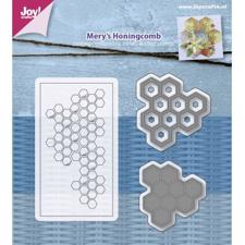 Joy Die - Cut & Stamp / Mery's Honeycomb