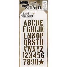Tim Holtz Layered Stencil - Crate