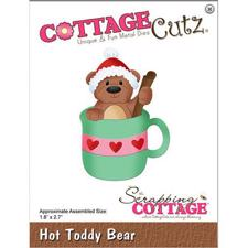 Cottage Cutz  Die - Hot Toddy Bear