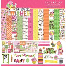 "Photoplay Collection Pack 12x12"" - Birthday Girl Wishes"