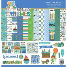 "Photoplay Collection Pack 12x12"" - Birthday Boy Wishes"