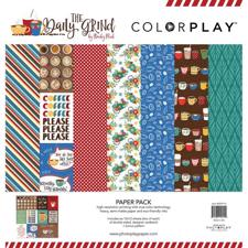 "Colorplay Collection Pack 12x12"" - Daily Grind"