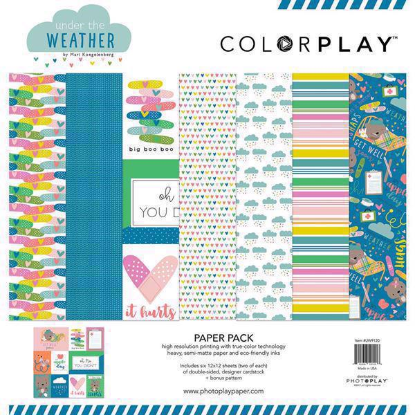 "Colorplay Collection Pack 12x12"" - Under the Weather"