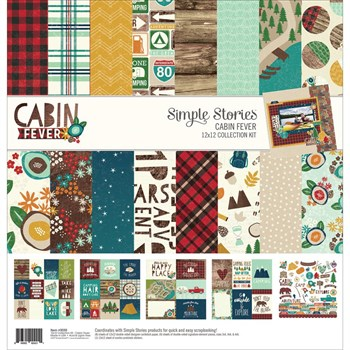 "Paper Pack 12x12"" Collection - Simple Stories / Cabin Fever"