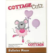 Cottage Cutz Die - Ballerina Mouse