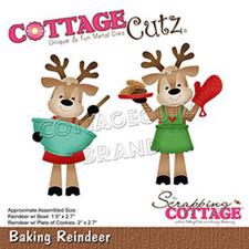 Cottage Cutz Die - Baking Reindeer