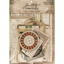 Tim Holtz / Idea-ology - Collector Cards / Layers