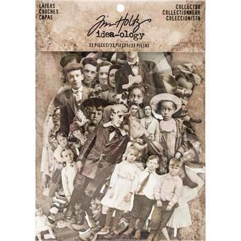 Tim Holtz / Idea-ology - Paper Dolls