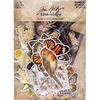Tim Holtz / Idea-ology - Botanical Layers Die-Cuts