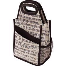 Tim Toltz - Spinning Tote / Typography