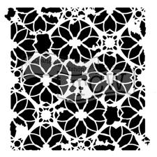 "Crafter's Workshop Template 6x6"" - Distressed Lace"