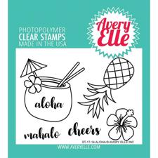 Avery Elle Clear Stamp - Aloha