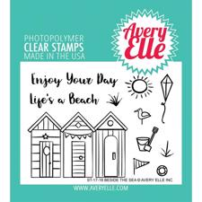 Avery Elle Clear Stamp - Beside the Sea