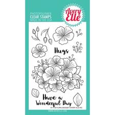 Avery Elle Clear Stamp - Floral Bouquet