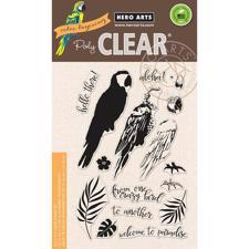 Hero Arts Clear Stamp Set - Color Layering / Parrot