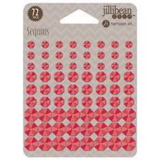 Jillibean Soup Adhesive Sequins - Red