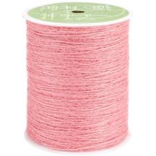 May Arts Burlap String (twine) - Pink