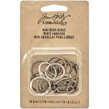 Tim Holtz / Idea-ology - Mini Book Rings
