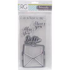 Richard Garay Stamps - Hello Note