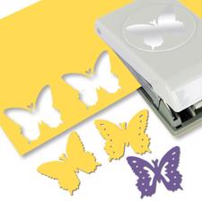 Punch - Butterfly Layering Punch - EK Succes