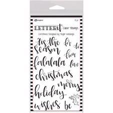 Ranger Letter It - Clear Stamps / Christmas