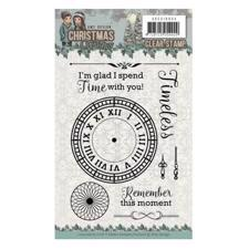 Amy Design Clear Stamp Set - Clock