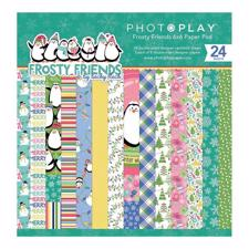 "Photoplay Paper Pad 6x6"" - Frosty Friends"