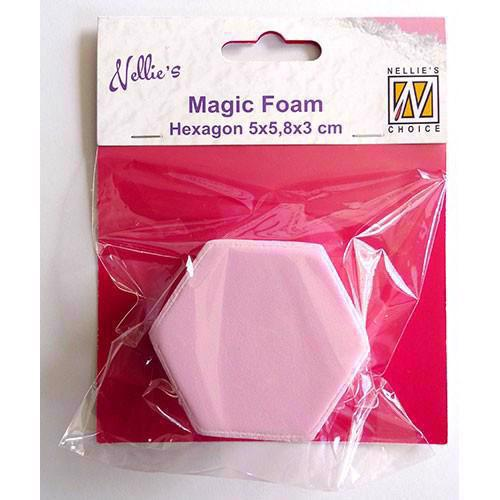 Nellie Snellen Magic Foam Stamps - Hexagon