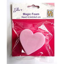 Nellie Snellen Magic Foam Stamps - Heart