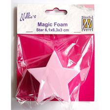 Nellie Snellen Magic Foam Stamps - Star