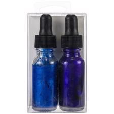 Hero Arts Glimmer Metallic Ink - Purple & Blue