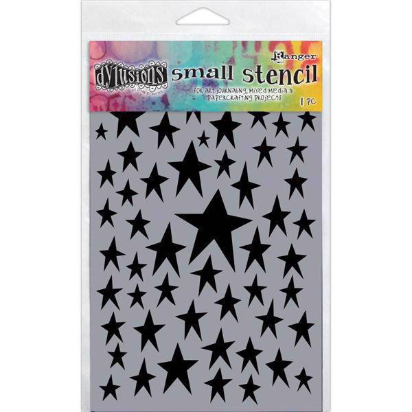 "Dylusion Stencil (5x8"") - Star Struck"