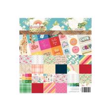 "Webster's Pages Paper Kit 12x12"" - Changing Color"