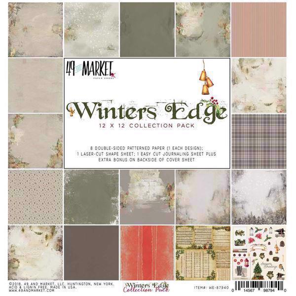 "49 and Market Collection Pack 12x12"" - Winters Edge"