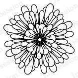 IO Stamps Cling Stamp - Flower 2